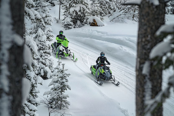 Brian Dick can flat out ride, and although this isn't us in the photo, he schooled me in the tight twisty woods sections where the Blast ZR shines