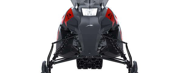 The new Blast has a 37-39 adjustable ski stance and AMS front suspension