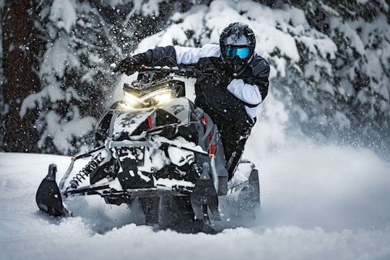 2021 RIOT X available to demo ride at MNUSA Winter Rendezvous in Bemidji, MN Feb 6-8