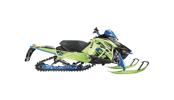 """2020 RIOT 146 with Laydown steering post and adj 43"""" Ski Stance"""