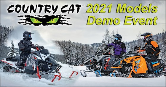 2021 Demo Rides at Country Cat in Sauk Centre, MN