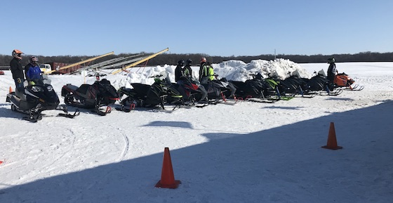 Country Cat had a line-up of 2020 and 2021 demo units to ride including the new Blast and Riot X