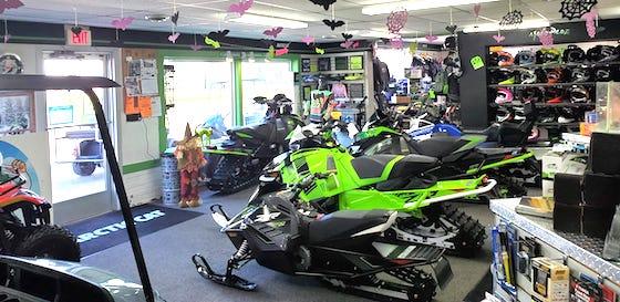 An inside peek at MotoProz showroom in Mazeppa, MN