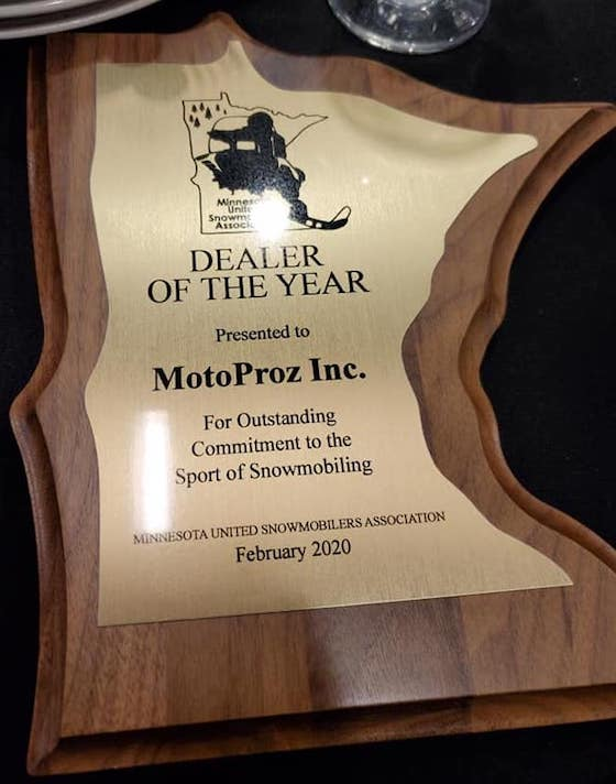 The MnUSA Dealer of the Year Award