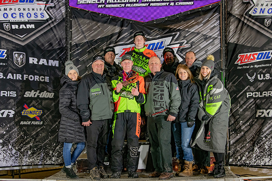 CBR on the Podium in NY