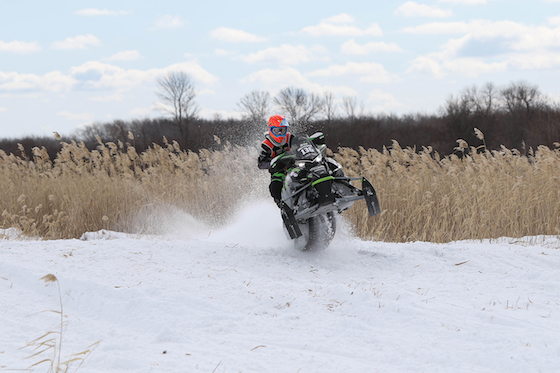 Jesse Hallstrom tore up the cattails winning Expert 600 Limited and Junior 14-17. Photo: Emily Pearl Photography