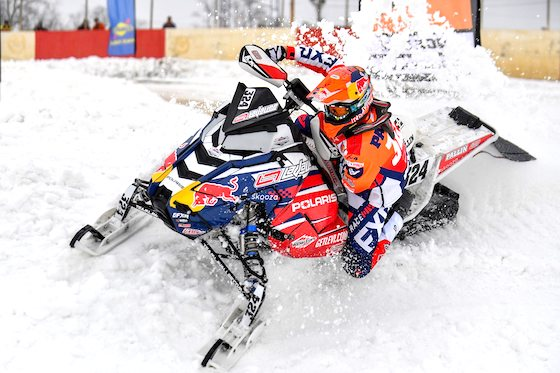 Kyle Pallin, Pro for Lavallee Racing utilizes Rox Handguards