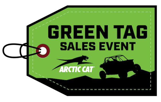 Green Tag Sales Event Announced