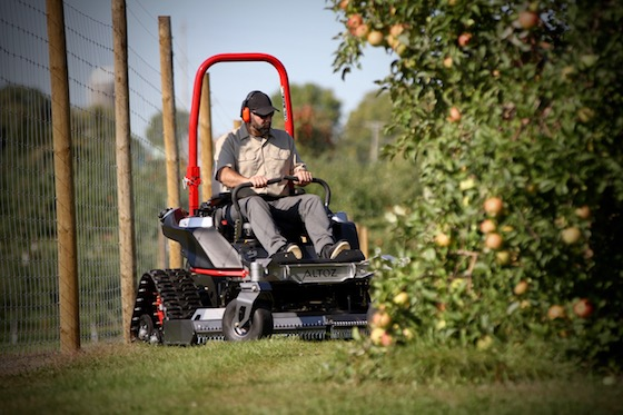 Altoz TRX track zero-turn mowers are about as cool as they come. And some very talented past Arctic Cat employees work for this neighboring manufacturer in Greenbush, MN