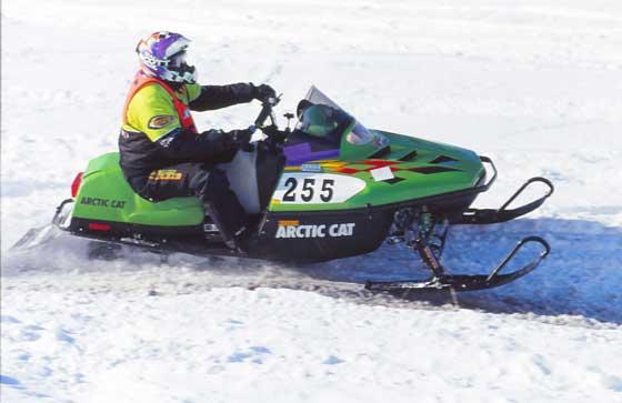 Roger racing I500 in 1999 Photo:John Sandberg