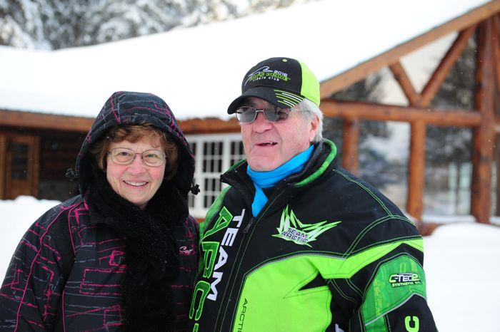 Roger and his wife Bernice at Skime Ranch Photo: John Sandberg