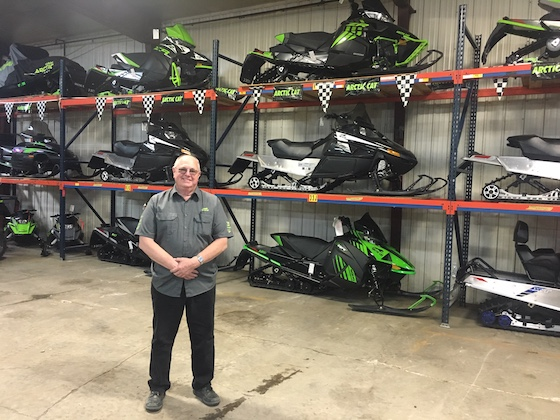 The remaining Arctic Cat snowmobile inventory at RV Sports