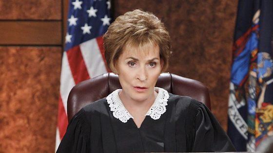 My favorite judge. Judy.