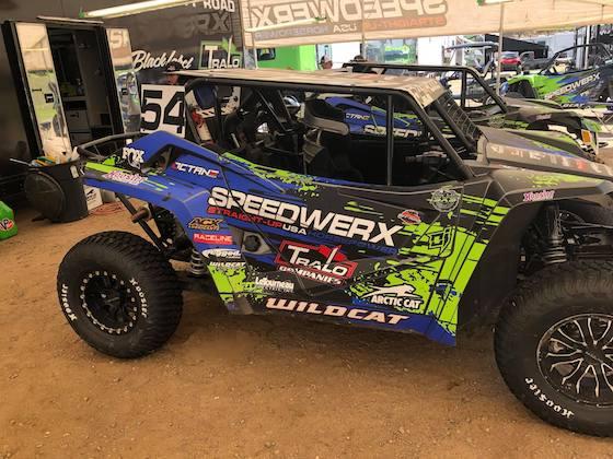 A look at the Speedwerx pits running 5 Wildcat XXs