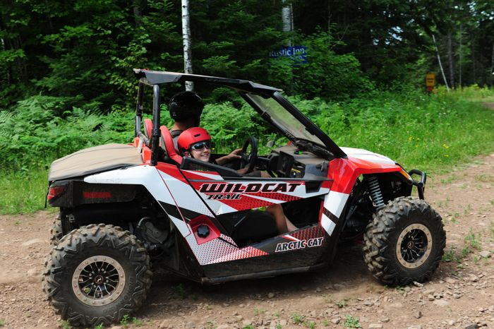 In 2016 I had a fun Wildcat Trail full of Arctic Cat accessories, PRP seats, Raceline Wheels and other goodies. My son and I cruised several thousand miles of back roads and trails.