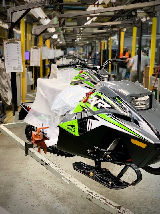 The 2021 ZR200 in Charcoal Gray/Green is on the line!