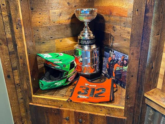 The Roger Skime Cup found its new home for the year in Zach Herfindah's trophy case