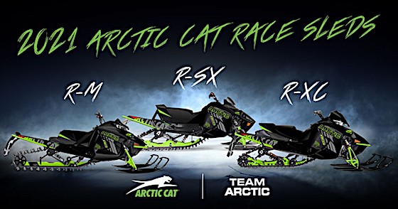 The new 2021 Team Arctic Race Sleds are revealed