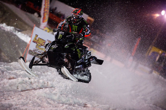A National Snocross race will kick off the season at ERX Motor Park in Elk River. ERX hosted a National race in 2012 where Tucker Hibbert swept Saturday's main event.