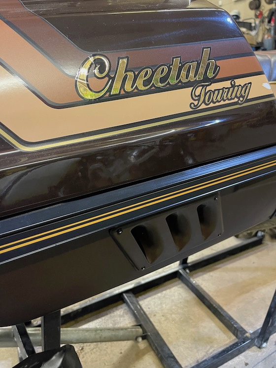 This 1989 Cheetah Touring is more of a Cheeter Touring - The ultimate workhorse
