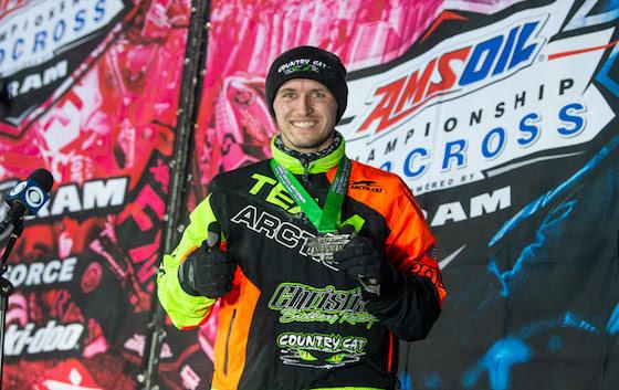 #43 Pro Logan Christian 2nd at Fargo National Snocross