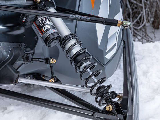 ZR 8000 Limited ATAC with FOX iQS shocks