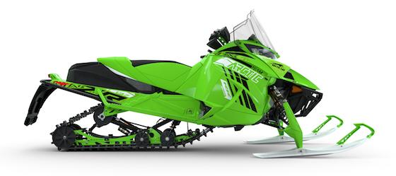 2022 ZR 8000 RR with Trail Blazer Accessory Kit