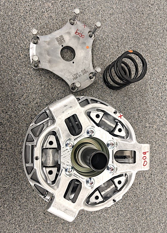A semi exploded view of ADAPT Drive Clutch