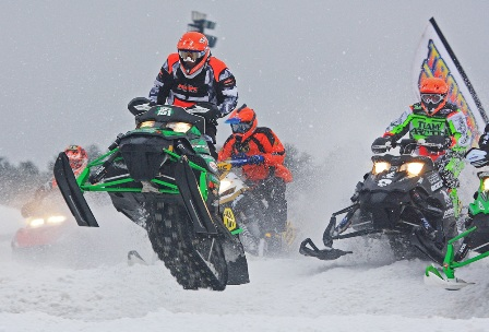 Andrew Carlson of Sportech/Arctic Cat