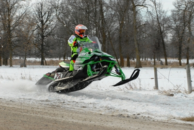 Team Arctic's Brian Dick at the 2010 I-500