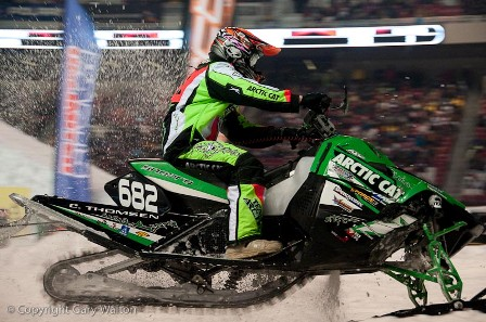 Factory Arctic Cat's Cody Thomsen is the Semi Pro Open Champ