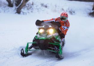 Arctic Cat/CBR Cory Davis racing at Grafton
