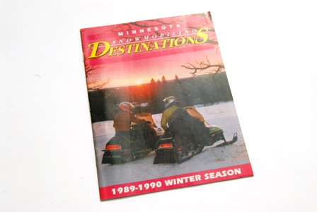 First issue of Minnesota Snowmobiling Destinations