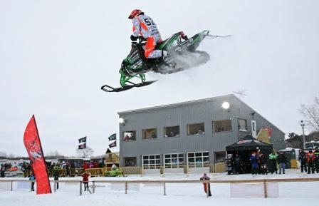 Johan Lidman jumping at ERX