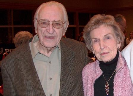 Edgar with his wife Hannah