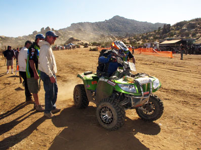 Arctic Cat Thundercat 1000 wins the Baja 1000