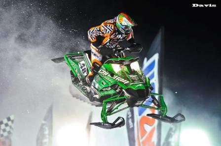 Garth Kaufman took second in Stock, photo by Wayne Davis