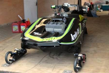 Sensational custom Arctic Cat Z racer