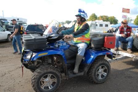 Glen Plake rides Arctic Cat