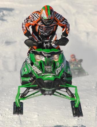 Arctic Cat/Christian Bros. Racing's Garth Kaufman