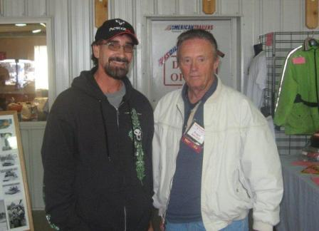 John Zanon (l) and Roger Janssen