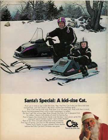 1973 Arctic Cat Kitty Cat advertisement