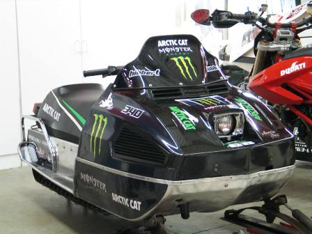The first Monster Arctic Cat?