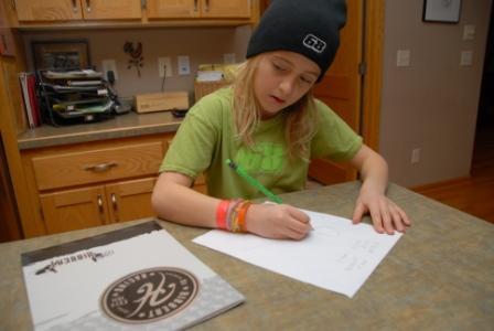 Jojo loves doing homework utelizing the Hibbert Kids School Pack