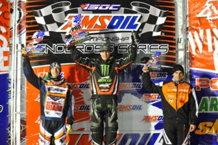 Tucker atop Pro Open Podium in Milwaukee
