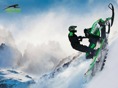 Rocky climbing for Arctic Cat