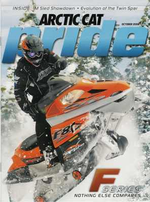 Rocky gracing the cover of Pride Magazine, Oct. 2006