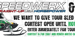 Speedwerx and Sledhead 24/7 contest for Arctic Cat makeover