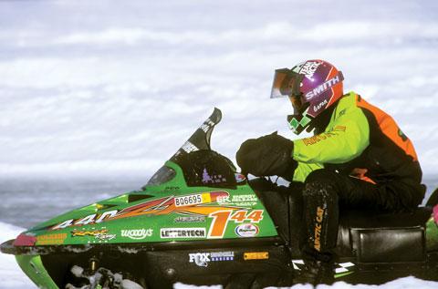 Team Arctic's Aaron Scheele racing ISOC XC in '97