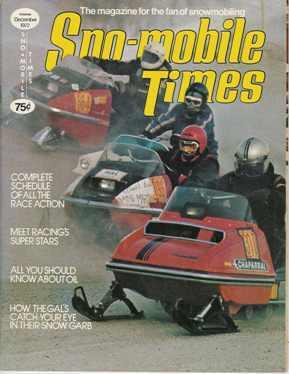 Dec. 1972 Snowmobile Times magazine